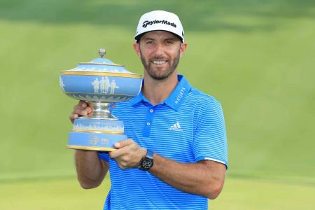 Dustin Johnson wins WGC