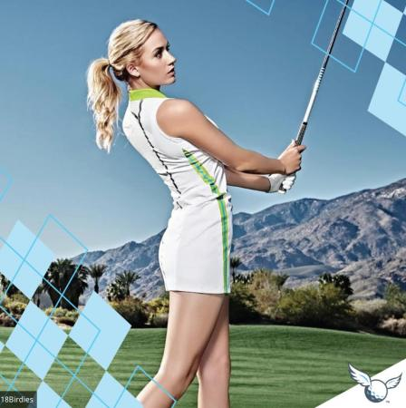 Paige Spiranac signs up with 18Birdies