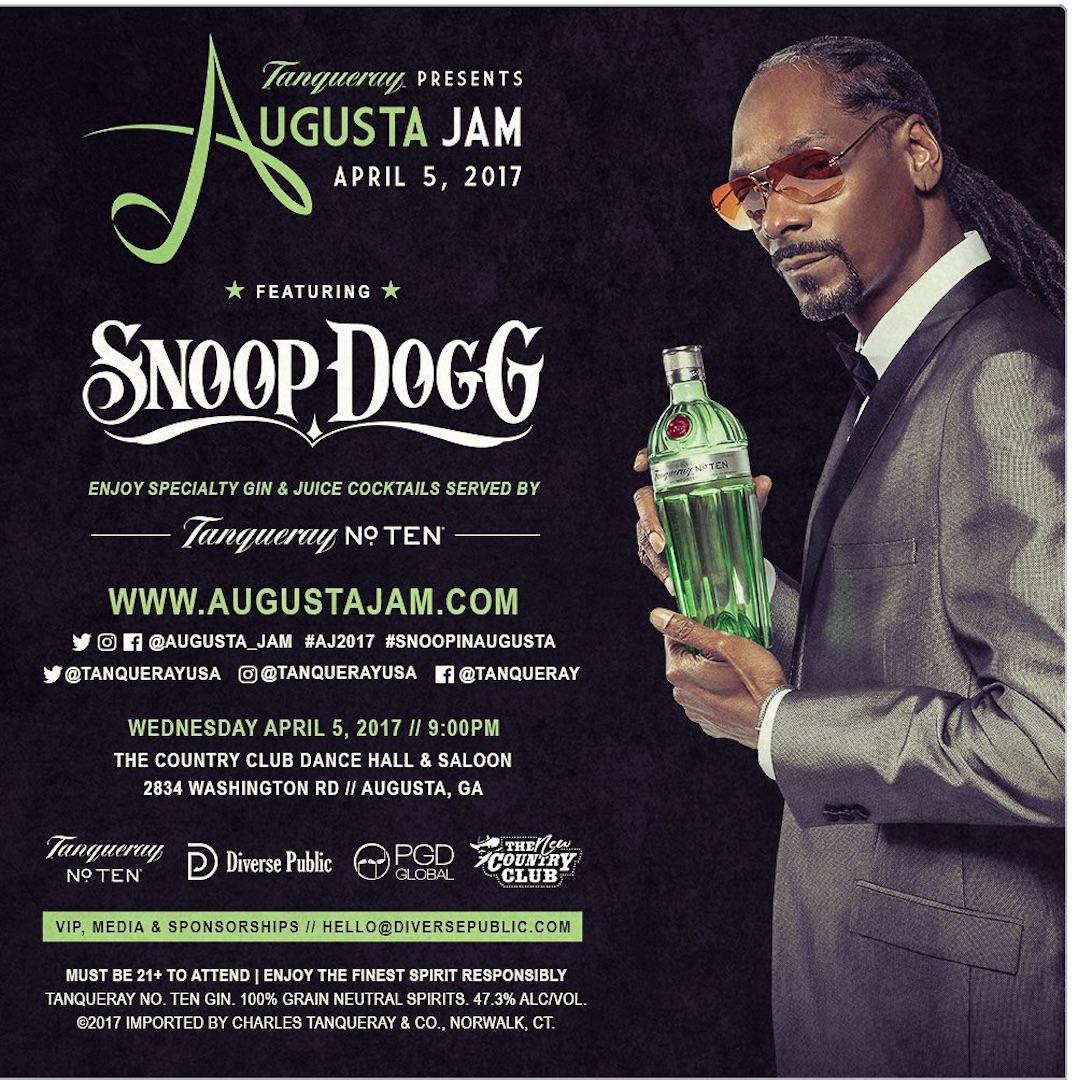 Snoop to host Masters Jam