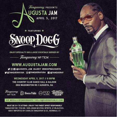 Snoop to host Masters Jam