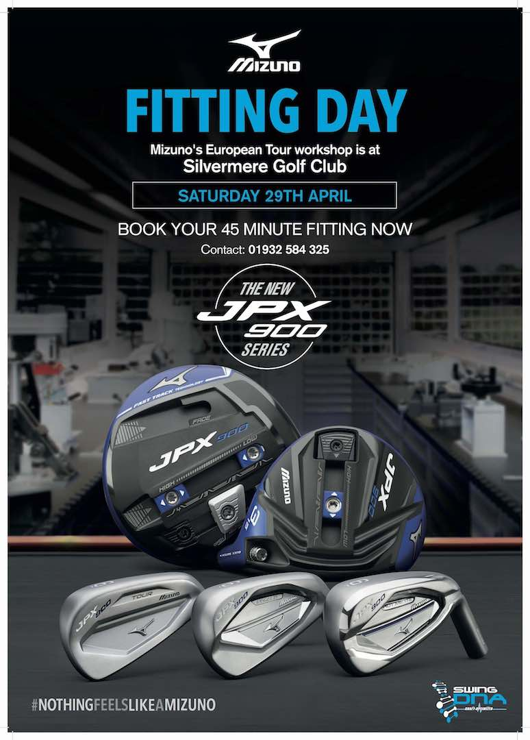 Mizuno announces European Tour Workshop