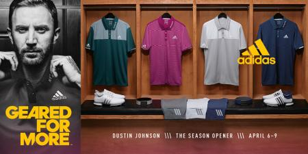 adidas Golf unveils athlete apparel