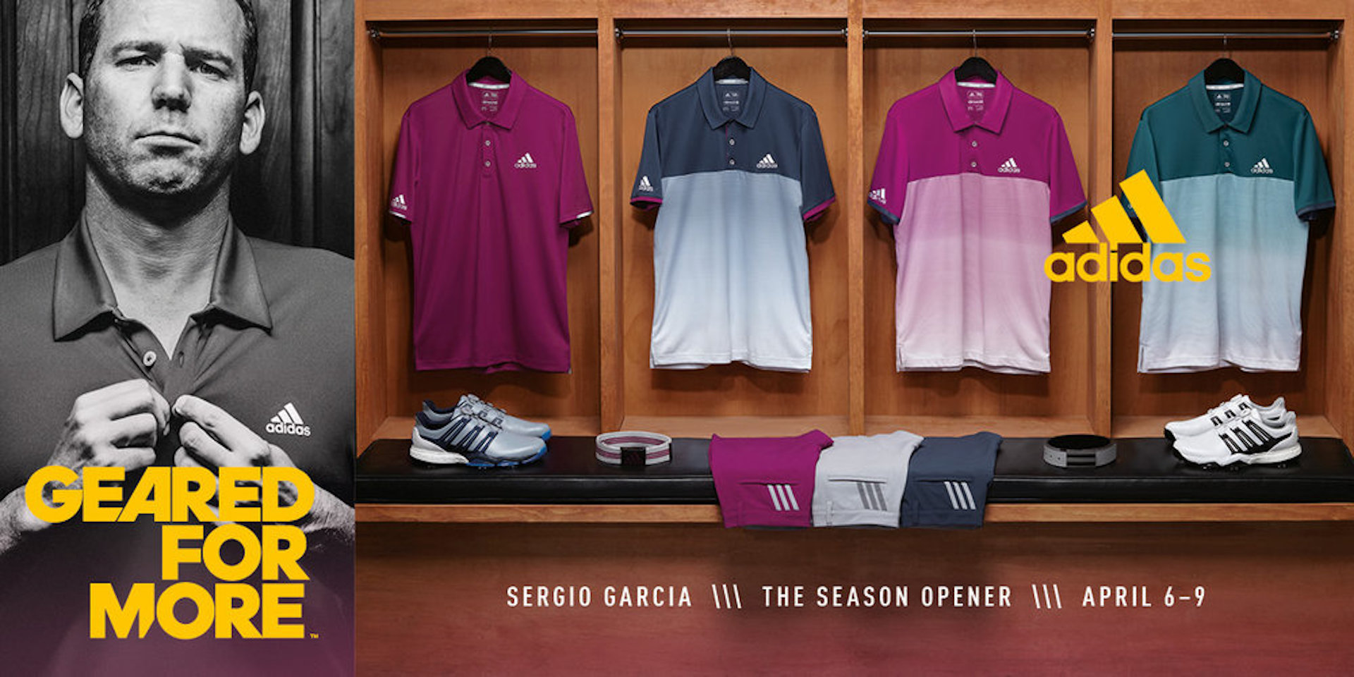 adidas Golf unveils athlete apparel