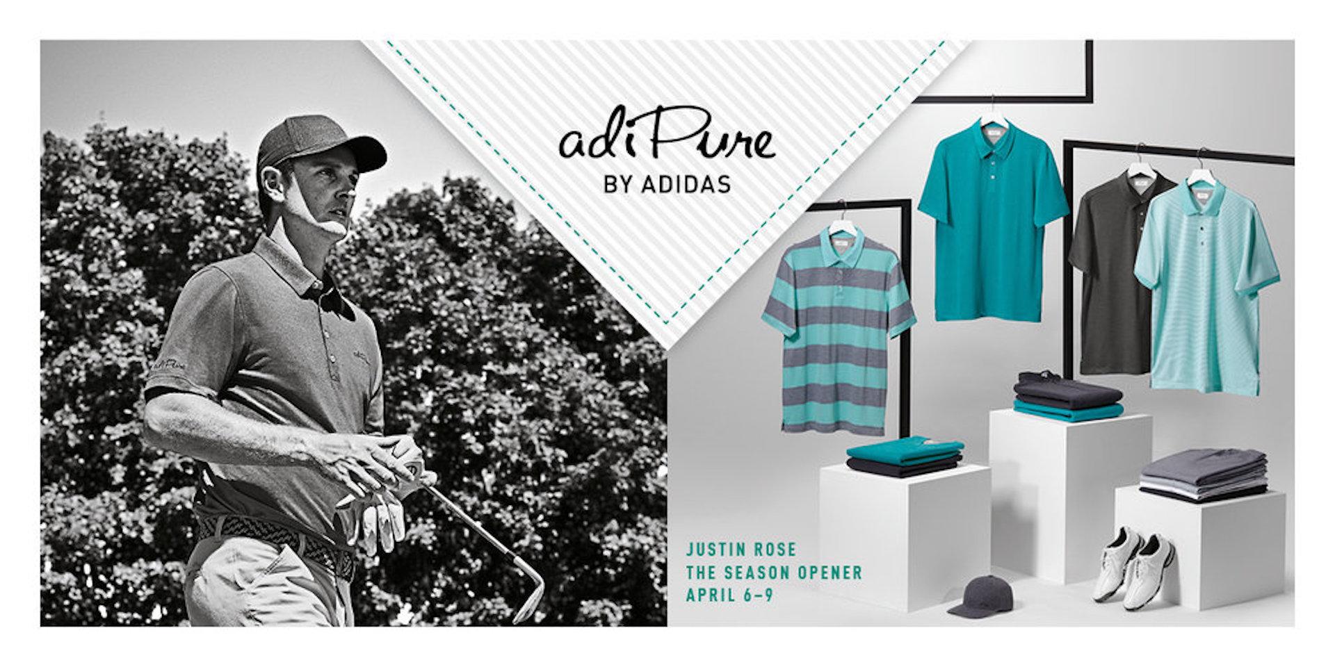 adidas adipure golf clothing
