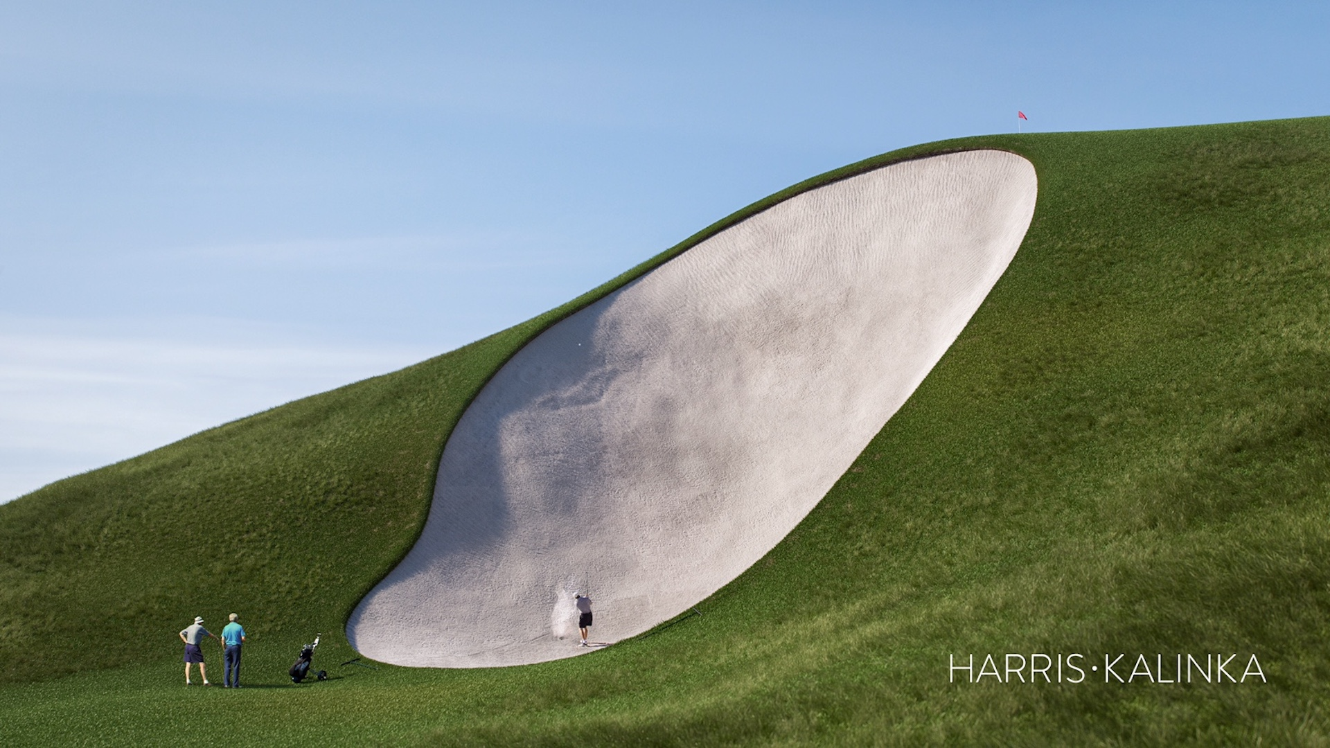 Workers First To Enjoy Giant Bunker Golfpunkhq