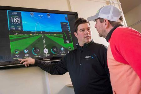 Crown Golf install SkyTrak