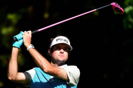 Bubba Watson teeing it up in style