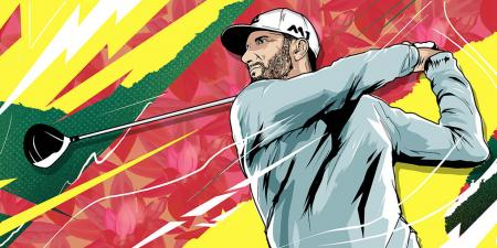 What's in Dustin Johnson's bag?