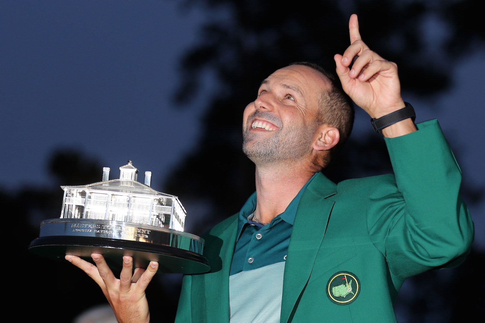 What was in Sergio Garcia's Masters winning bag