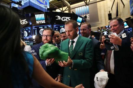 Sergio may wear Green Jacket at wedding