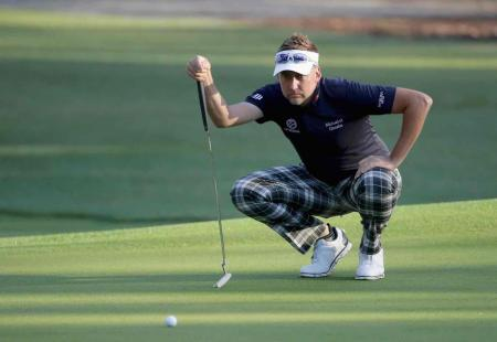 Poulter in contention at RBC Heritage