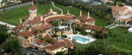 The bunker on Trump's Mar–a–Lago course
