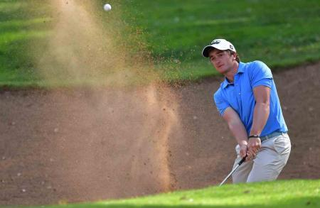 Paul Dunne leads in Morocco