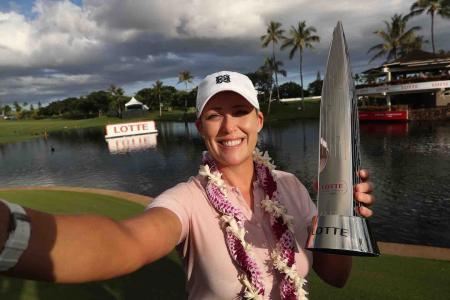 Cristie Kerr wins the LOTTE Championship