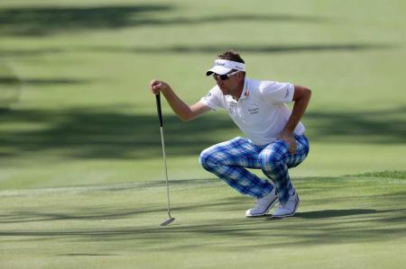 Ian Poulter on the edge