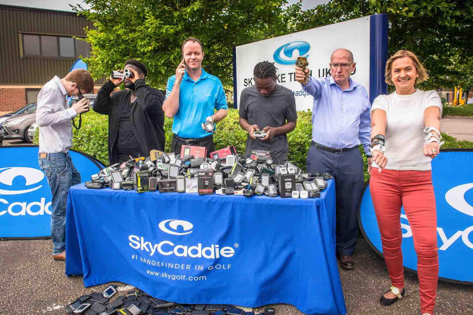 Sky Caddie launch spring trade–in promotion
