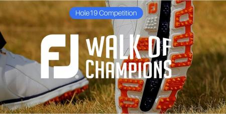 FootJoy launches Walk of Champions campaign