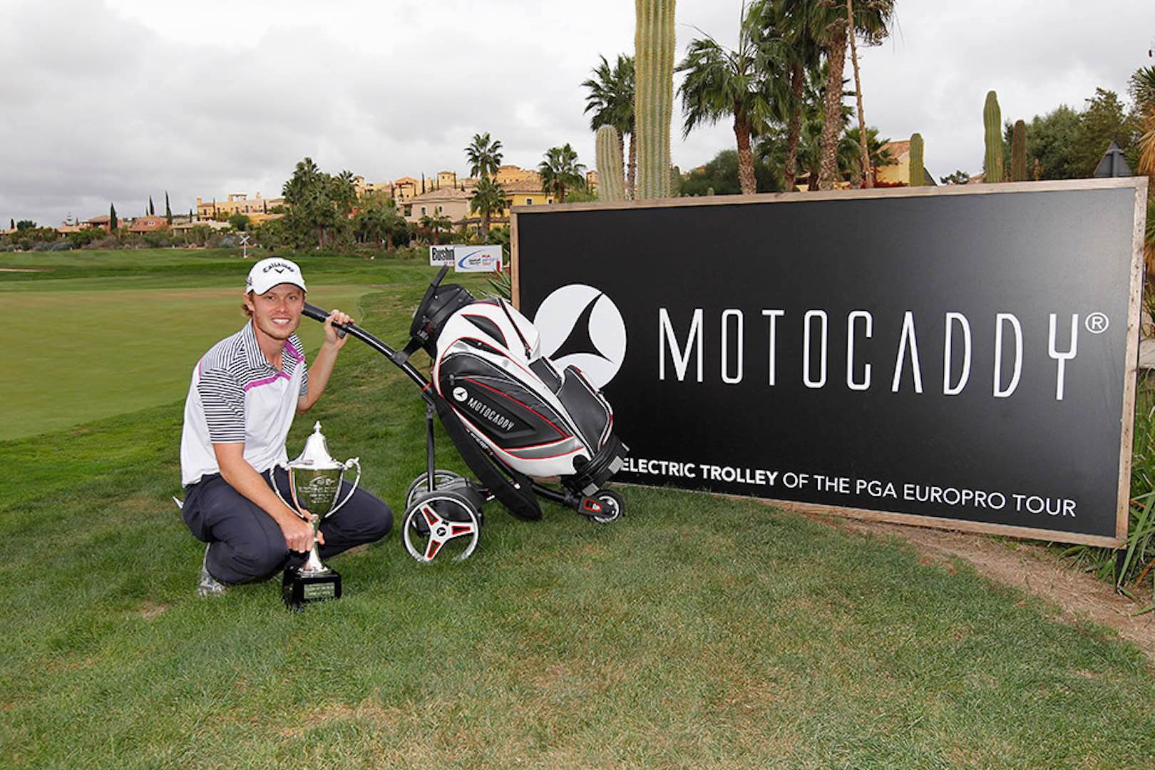 Motocaddy upgrades EuroPro Prize package