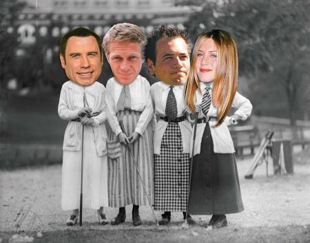 fantasy fourball john travolta jennifer anniston steve mcqueen nick dougherty