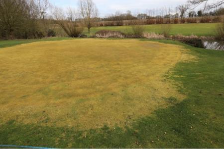 Vandalism at Cambridgeshire course