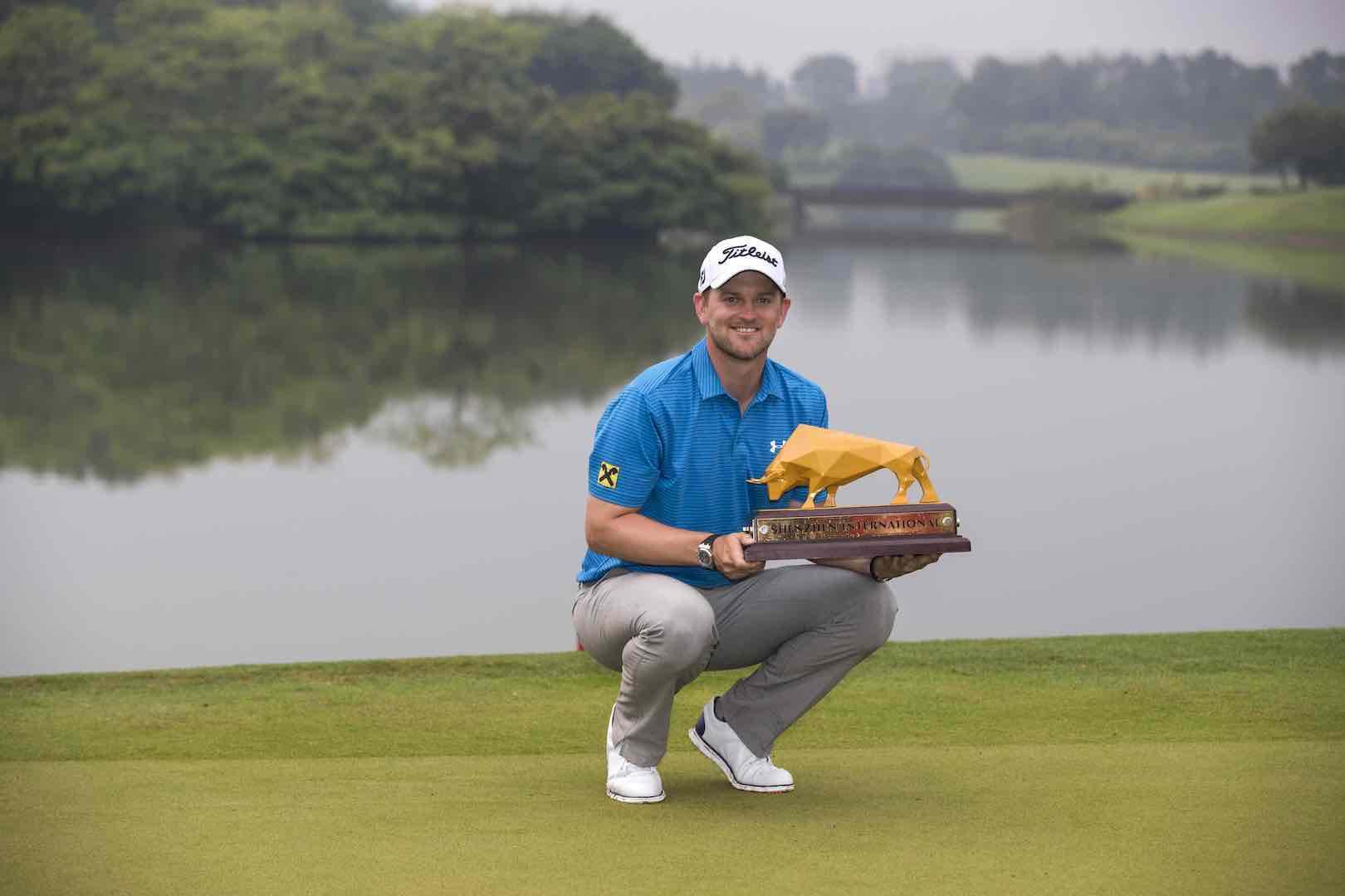 Bernd Wiesberger wins Shenzhen International