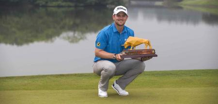 Bernd Wiesberger wins Shenzhen International