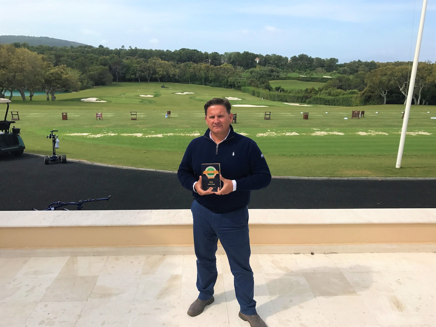 Real Club Valderrama wins best GC in Spain