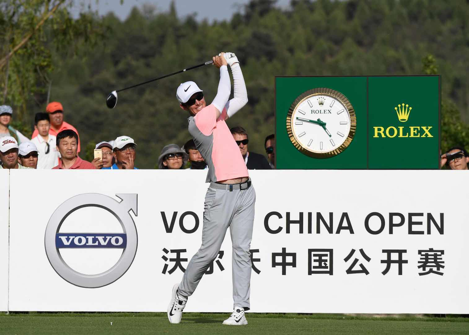 Dylan Frittelli leads in China