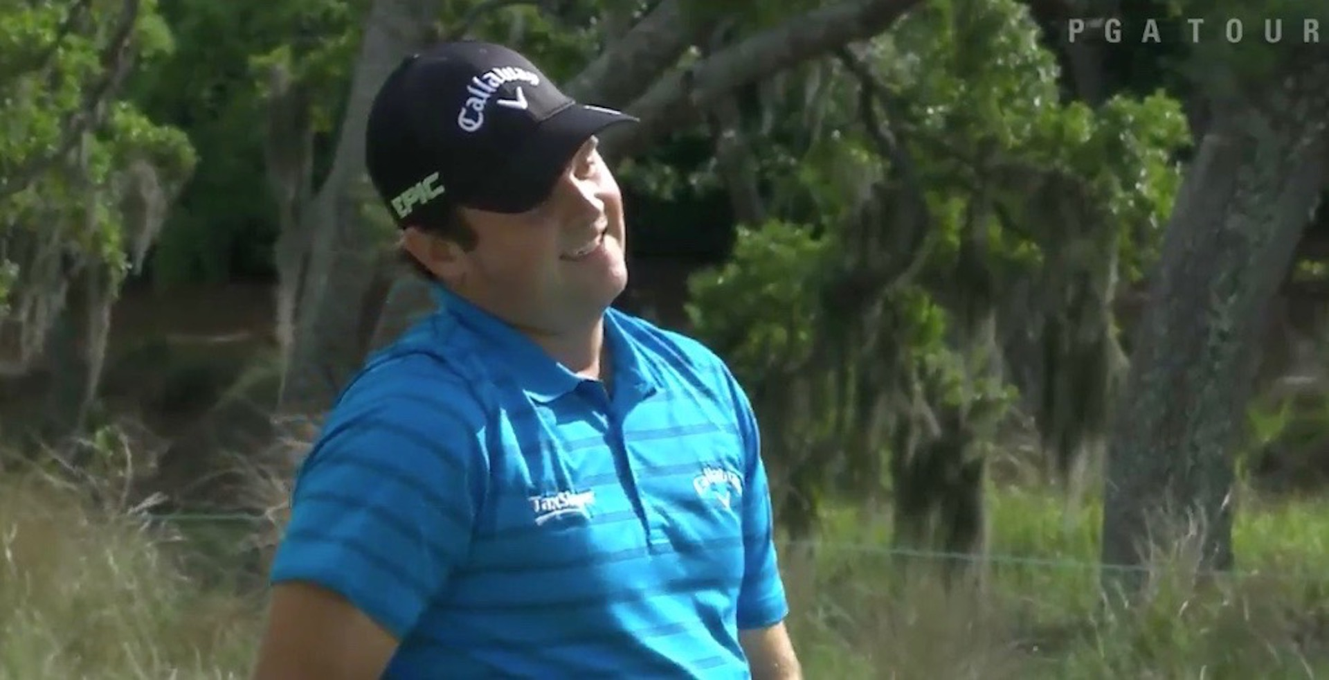 Patrick Reed leads the Wells Fargo