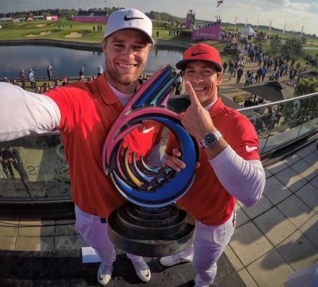 Denmark win the inaugural GolfSixes
