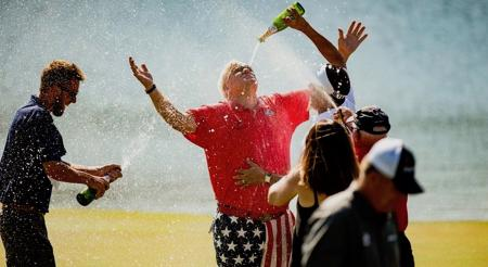 John Daly wins the Insperity Invitational