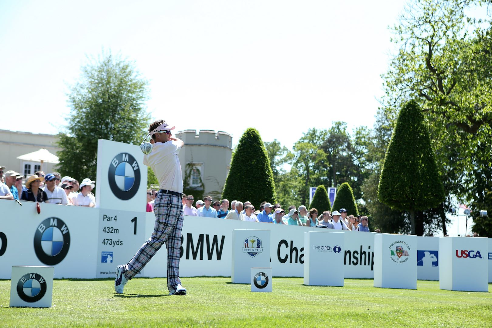 Ian Poulter joins star-studded BMW at Wentworth