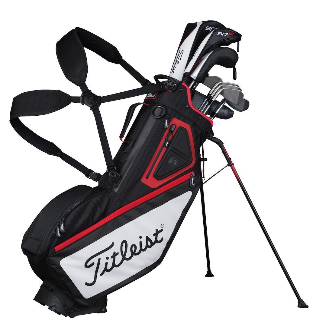 Titleist launches new Players Collection stand bags