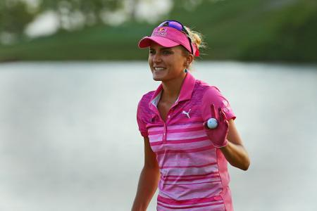 Lexi leads at Kingsmill