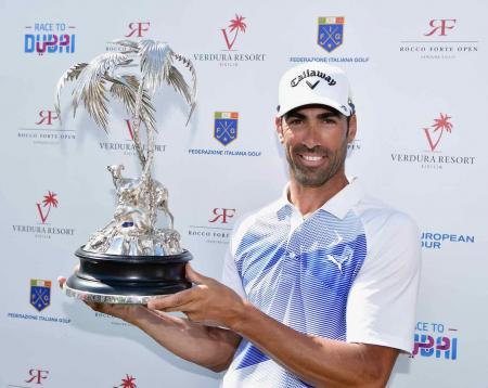 Alvaro Quiros wins Rocco Forte Open