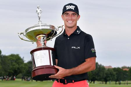 Billy Horschel beats Jason Day in play off