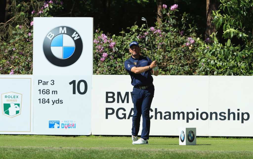 Thomas Pieters takes charge at BMW