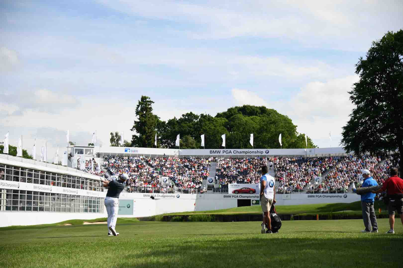 Moving day at the BMW PGA Championship