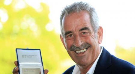 Sam Torrance honoured