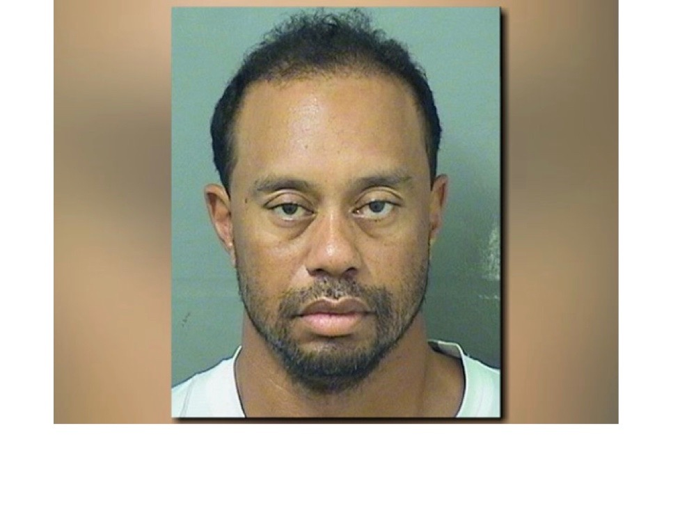 Tiger Woods found asleep at the wheel