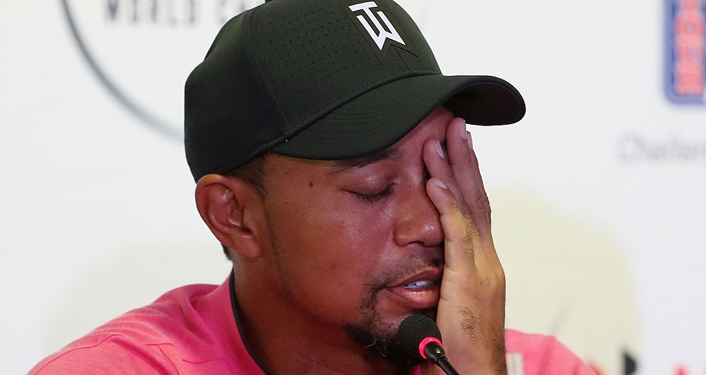 Tiger told police he was taking Xanax