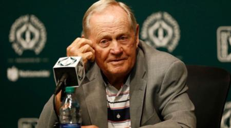 Jack Nicklaus offers his support