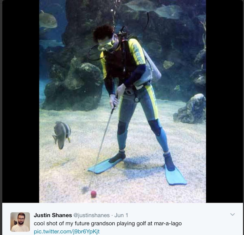 Aqua golf anyone?