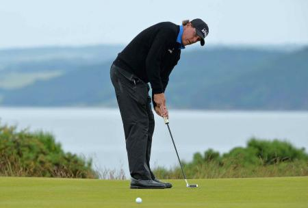 Phil Mickelson out of the Scottish Open