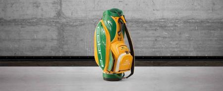 Rickie Fowler's Green Bay Packers Tribute