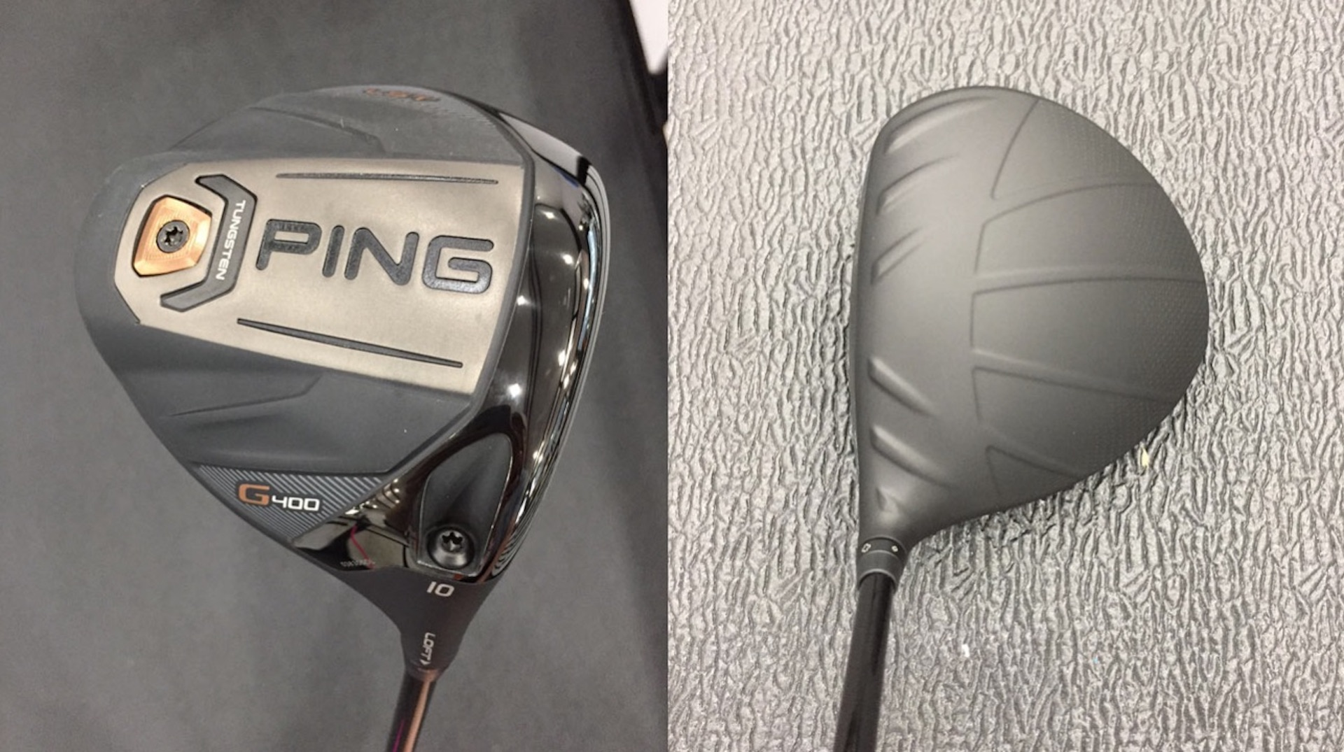 Bubba's got a brand new PING driver