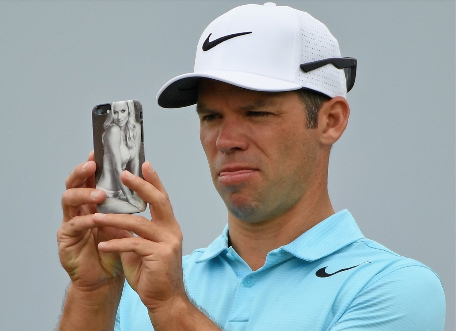 Paul Casey's phone cover