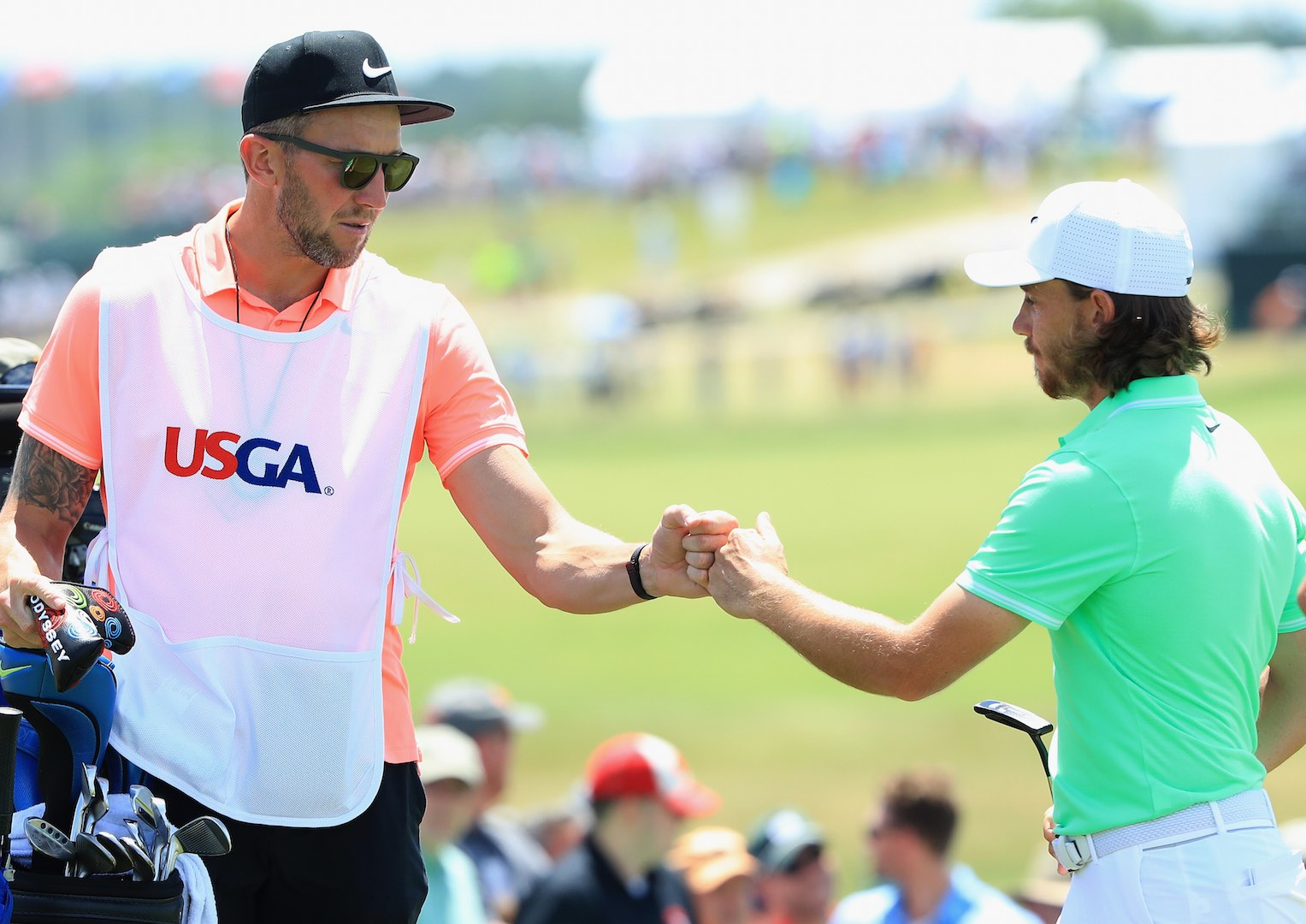 Rickie Fowler equals US Open record