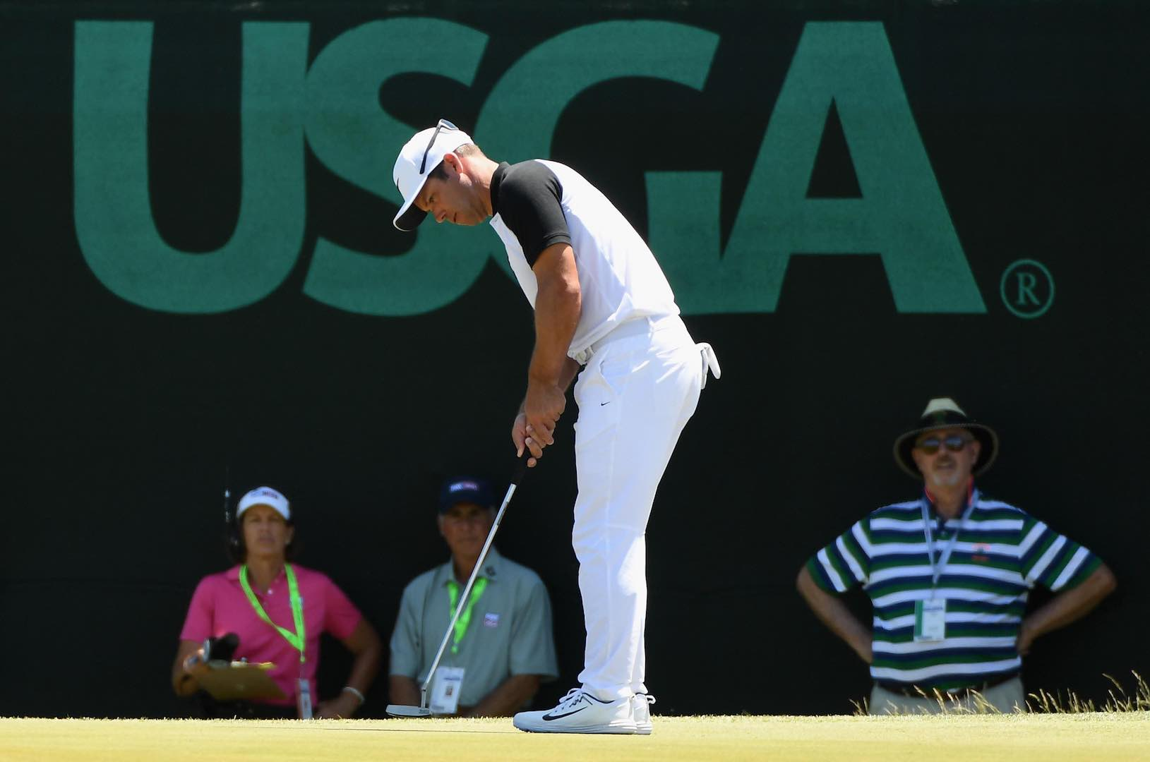 Casey & Fleetwood in 4–way lead at US Open