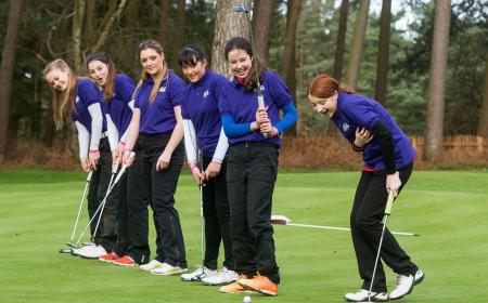 Girls Golf Rocks campaign working